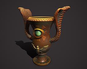 3D asset Flowerpot egypt