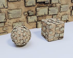 3D Paved Path 01 Material