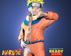 3D print model Naruto Fan art