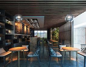 3D model Restaurant 01