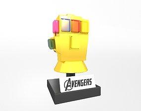 3D model Lego Infinity Gauntlet v2 001