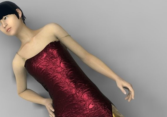 The brilliant dress