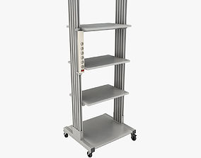 3D Mobile rack for electrical equipment 4