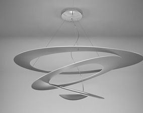3D model Artemide Pirce suspension