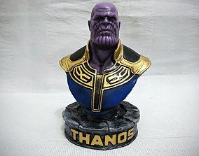 3D printable model Thanos Bust