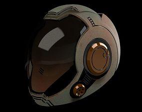 Gipsy Danger Pilot Helmet 3D print model