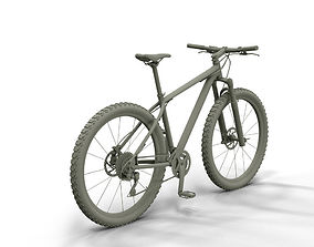 MTB Cube bike 3D