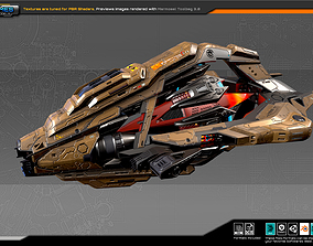 SF DRAKX Frigate DK4 3D model