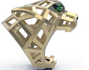 3D print model Ring Cat Wire