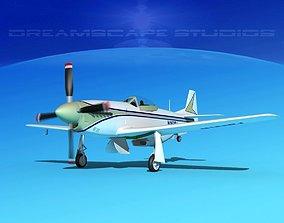 3D model P-51 Mustang Sport V01