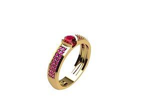 3D print model Fashion Ring No 02