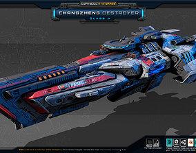 3D asset NEXTGEN - Changzheng Destroyer - Class V