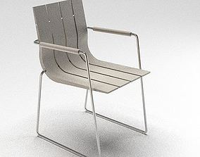 Composite Metal Chair 3D