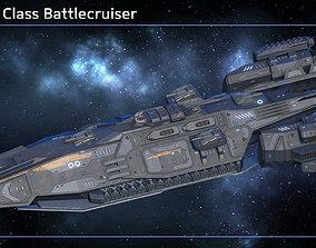 Spaceship Battlecruiser Liberty 3D model