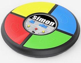 Old Simon Game 3D model