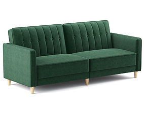 3D Dhp Pin Tufted Transitional Futon