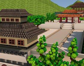 Palace 3D asset