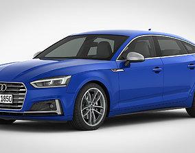 3D model Audi S5 Sportback 2018