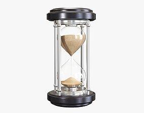 Hourglass sandglass egg sand timer clock 06 3D model