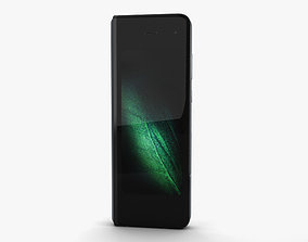 Samsung Galaxy Fold Space Silver 3D model