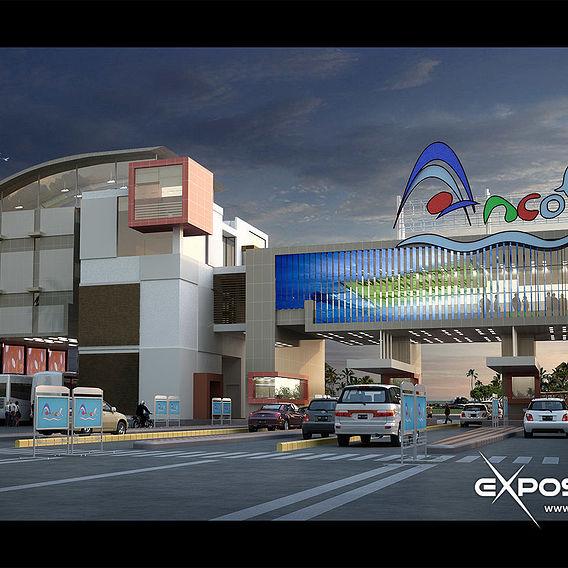 Ancol east gate design visualization