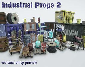 3D asset Industrial Props 2