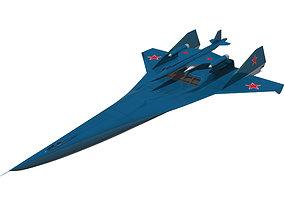 3D Bartini A-57 flight