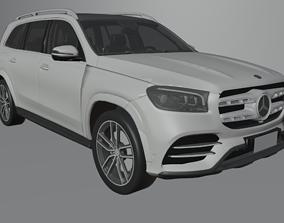 Mercedes Benz GLS 580 2020 3D asset