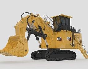 Mining Shovel Excavator 3D