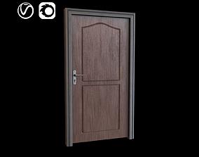 exterior 3D model VR / AR ready Wooden Door