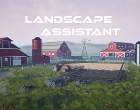 3D model Landscape Assistant