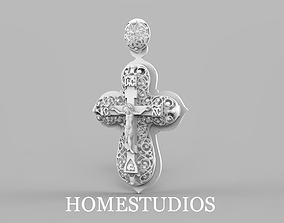 3D print model RELIGIOUS CROSS 21