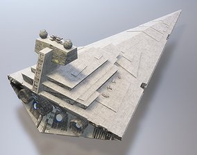 3D model Star wars - Imperial Star Destroyer