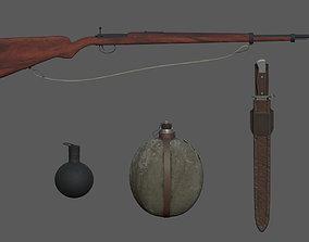 3D model Weapon Equipment