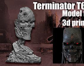 3D printable model Terminator T-600- Replica