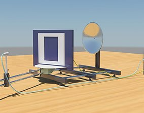 Ultrasonic diffraction at different single and 3D asset