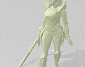 3D print model Diana Figure