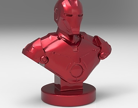 bust Iron man for 3d printing