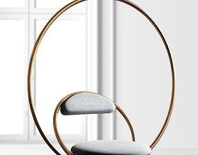 Hanging Hoop Chair 3D model