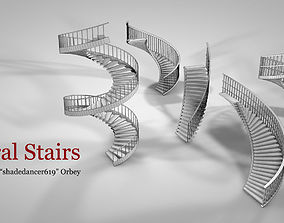 Spiral Stairs 3D model