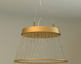 3D model Fiber Pendant chandelier