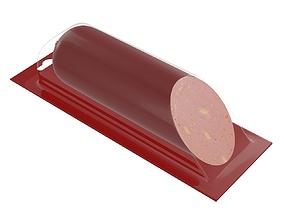 3D Sausage half plastic transparent packaging