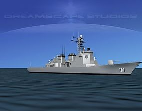 DDG174 Kongo Destroyer Kirishima 3D model