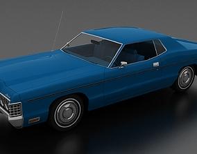 3D model Monterey 2dr Hardtop 1972