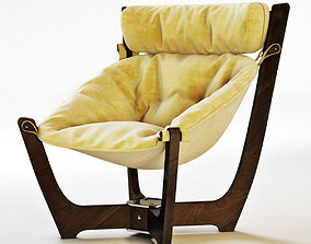 3D model Luna chairs