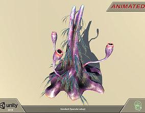 3D model Alien flora - plant 07