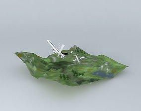 3D Hill Plane Crash Contest