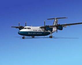 3D model Dehavilland DHC-7 Blue Ridge American