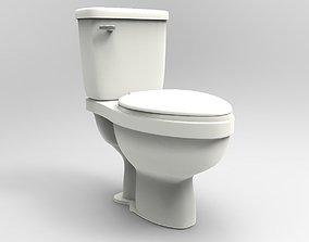 decoration Toilet 3D asset realtime