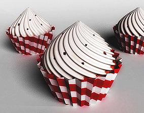 3D asset cake sweet